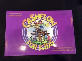 Rich Dad- CASHFLOW for Kids - Education Board Game for Children (Used but Complete)
