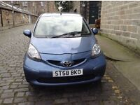 SPECIAL EDITION AYGO BLUE 58 PLATE - FULL NO ADVISORY MOT - £20 ROAD TAX - 2 OWNER CAR - STUNNING!!
