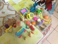 Budgie bird cage toys x19