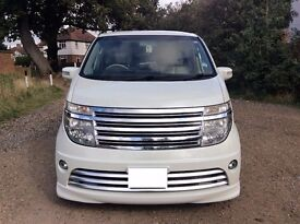 NISSAN ELGRAND RIDER 3.5 AUTO 8 SEATER 4WD FULL LEATHER INT