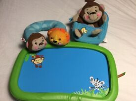 Kids Tray, Mini Rucksack and Neck Cushion - Excellent Condition