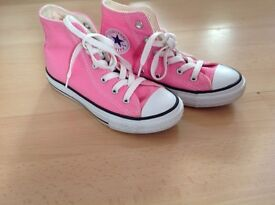 Converse Canvas Boots Pink Size 13