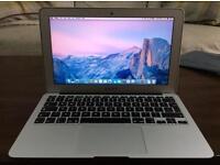 "MacBook Air 11"" inch early 2014 intel core i5 4GB Ram 128GB SSD"