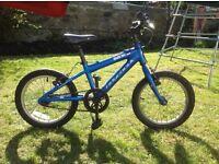"Blue 16"" Ridgeback children's bike"