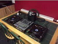 Allen & Heath Xone 92, CDJ1000mk3 and Xone 53 headphones