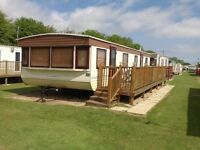 Caravan to rent, Skegness, 2 bedrooms, BOOK SEPTEMBER NOW, Highfields holiday park 4 berth caravan