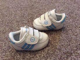 Adidas Crib Shoes -Size 1