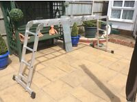 Superb quality multi-position ladder.