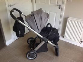 Babystyle Oyster Carrycot and Stroller