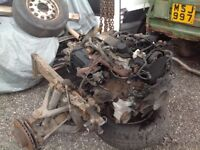 Iveco daily 2.3 engine gear box axles 57 reg export