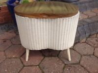 Vintage designer stool / storage box