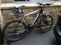 """Dawes mountain bike, 26"""" wheels, mudguards, toolkit and lights. Spare tyres if needed"""
