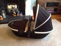 Silver Cross Carry Cot. As New.