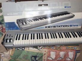 M-Audio Keystation 61es USB midi