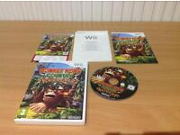NINTENDO WII DONKEY KONG COUNTRY RETURNS IN GOOD CONDITION