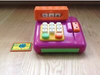 Toy Till with Credit Card Swiper & Credit Card - Immaculate Condition