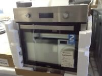 Beko stainless steel intergrated oven. £159 new/ graded 12 month Gtee