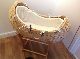 Mother care Moses basket for sale