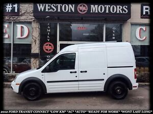 2012 Ford Transit Connect XLT*LOW KM*AC*AUTO*READY FOR WORK*WONT