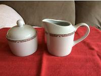 Royal Doulton Milk Jug & Sugar Bowl