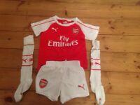 Arsenal football kit - age 3