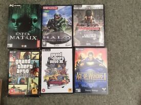 Bundle of 18 exciting games in good condition