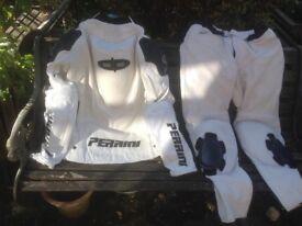 Perrini White Ghost Leathers