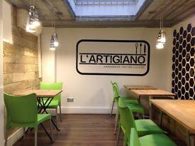 Part Time Team Member/ L'Artigiano Old street