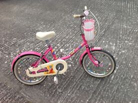 Girls Raleigh bicycle