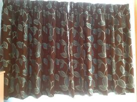 Lovely hand made curtains in very good condition