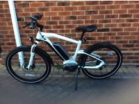 BMW electric bike top quality it has 10 gears 2016 model no time wasters please or silly offers.