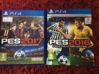 PS4 games only selling as that don't get played both games in good condition