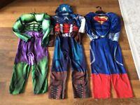 3 Superhero Dressing up outfits