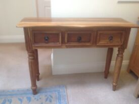SORRY SOLD Solid Wood Side Table