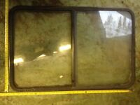 Mixed campervan windows