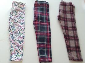 Girls Leggings Age 3-4 Years - Very Good Condition - Next