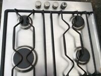 Integrated 4 Ring Stainless steel Gas Hob