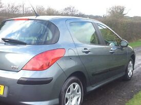 2009 Peugeot 308 SDT *** FULL YEAR'S MOT*** £30 A YEAR ROAD TAX***