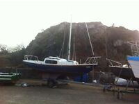 Corribee 21 sailing boat for sale