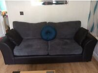Jumbo cord 3/2 seater suite bought in April for £749 will accept £400 for quick genuine sale