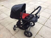 Bugaboo Cameleon 2 Limited All Black Edition Pram/Buggy