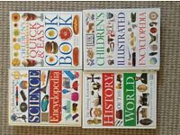 4 Dorling Kindersley books all in as new condition. Only £10