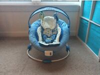 Baby bouncer chair (cat been in contact)