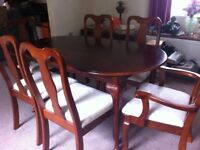 Free!! Good quality dining room furniture .