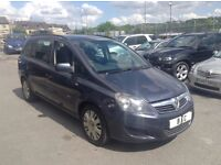 VAUXHALL ZAFIRA 1.9CDTI LIFE 5DR 7 SEATER++1 OWNER FROM NEW++FULL SERVICE HISTORY++COMPLETE BARGAIN!