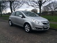 *2010* '60' *VAUXHALL CORSA* 1.2SE* 3DR *F/S/H* M.O.T* LOW MILES* A/C * ALLOYS * IMMACULATE *