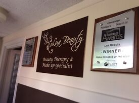 Part time/ Full time self employed Beauty Therapist required for award winning village salon