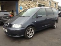 Seat Alhambra 1.9 TDI PD Stylance 5dr 1 PREVIOUS LADY OWNER FROM NEW (55 reg), MPV