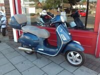 VESPA 250ie COMES FULLY SERVICED LONG MOT RIDES GREAT DELIVERY CAN BE ARRANGED