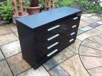 Chest Drawers in Black £60